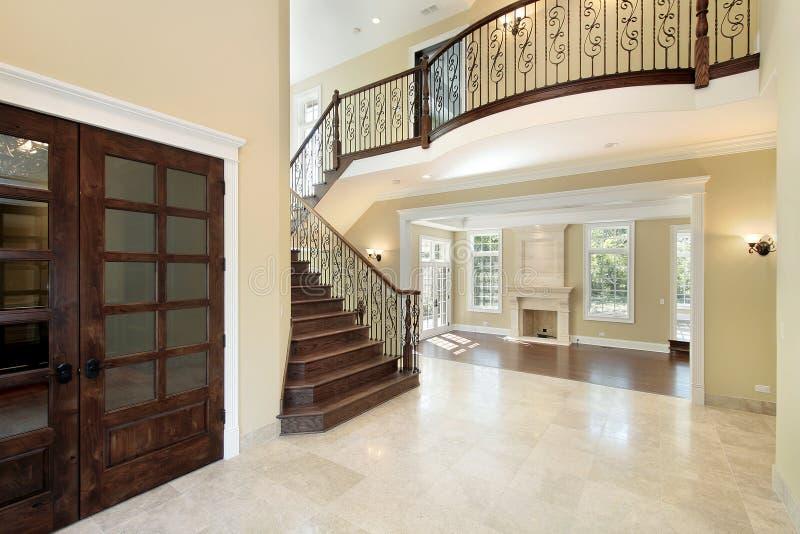 balkonowy foyer zdjęcia royalty free