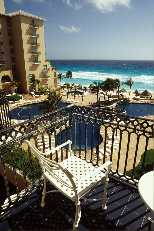 balkonowy widok fotografia royalty free