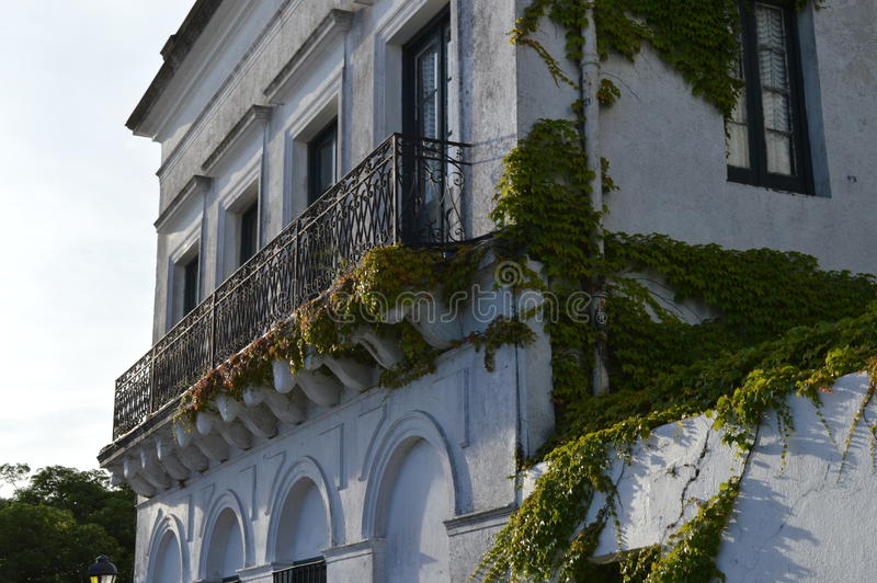 balkons royalty-vrije stock afbeelding