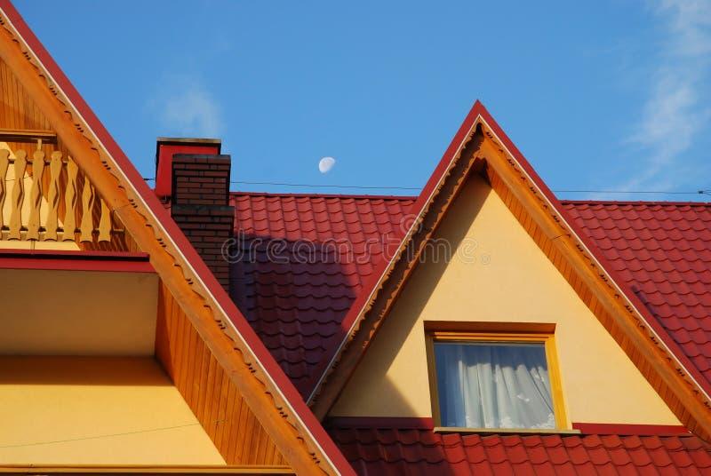 balkonu dach zdjęcie stock