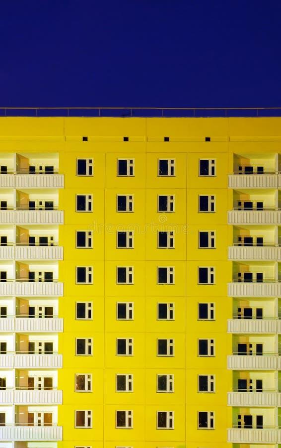 balkony target3064_1_ biały kolor żółty fotografia royalty free