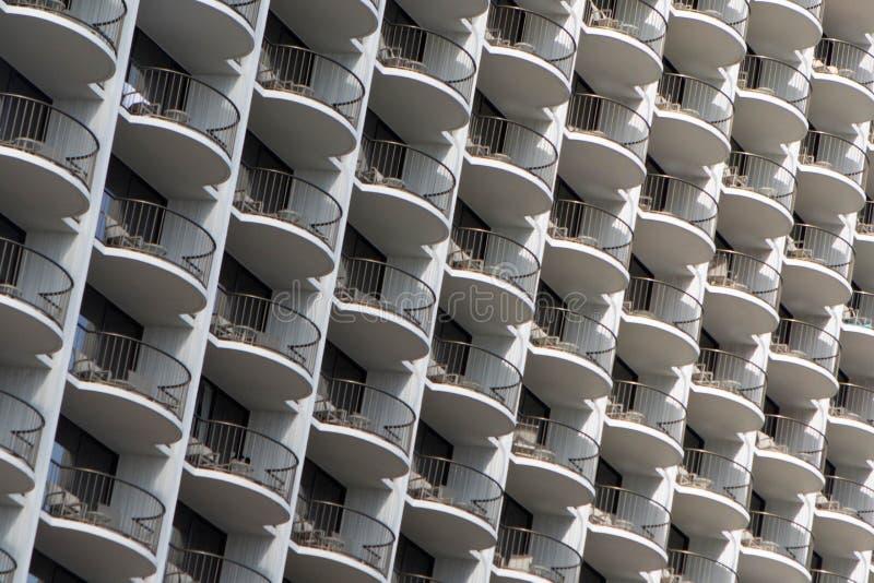 Balkony w niebie fotografia stock