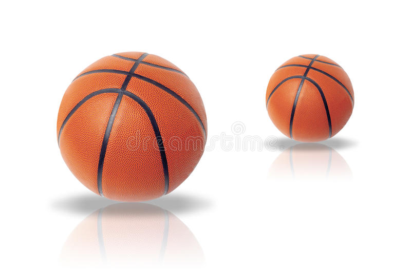 Ball. Illustration of a ball for basketball on a white background vector illustration