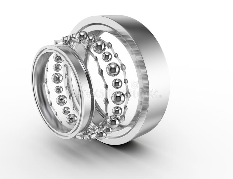 Ball Bearing Parts Royalty Free Stock Photos