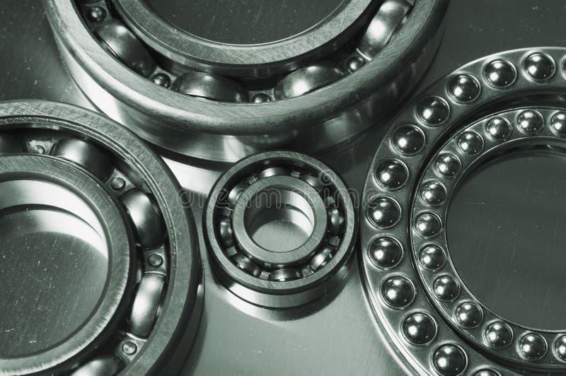 Ball-bearing sizes stock image