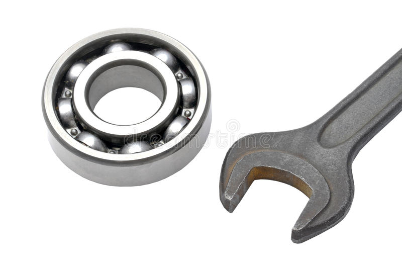 Ball bearing and Wrench