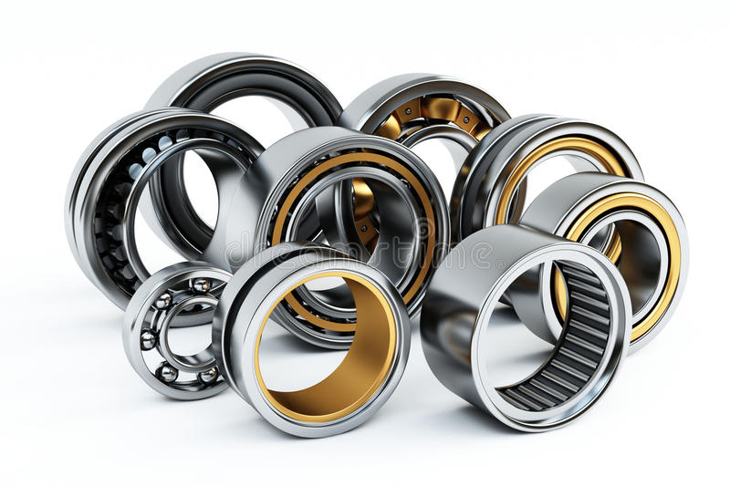 Download Ball bearings stock illustration. Image of definition - 15088708