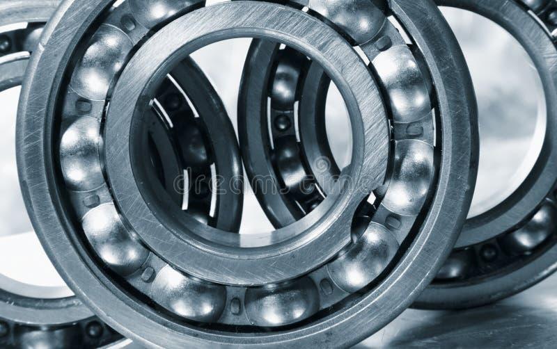 Ball bearings in close ups