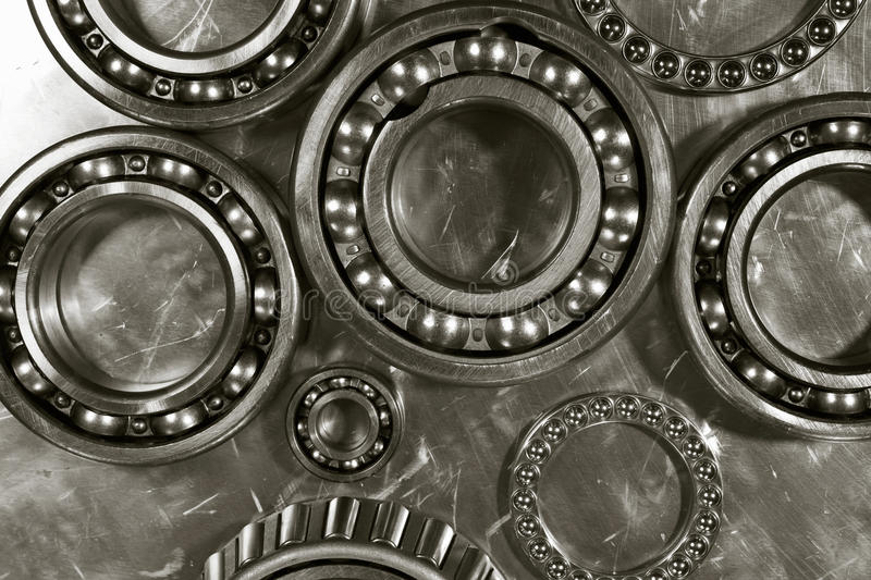 Download Ball bearings and pinions stock photo. Image of mechanism - 16186254