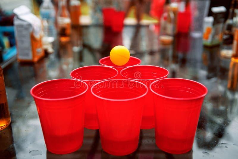 Ball, Beer, Pong royalty free stock photo