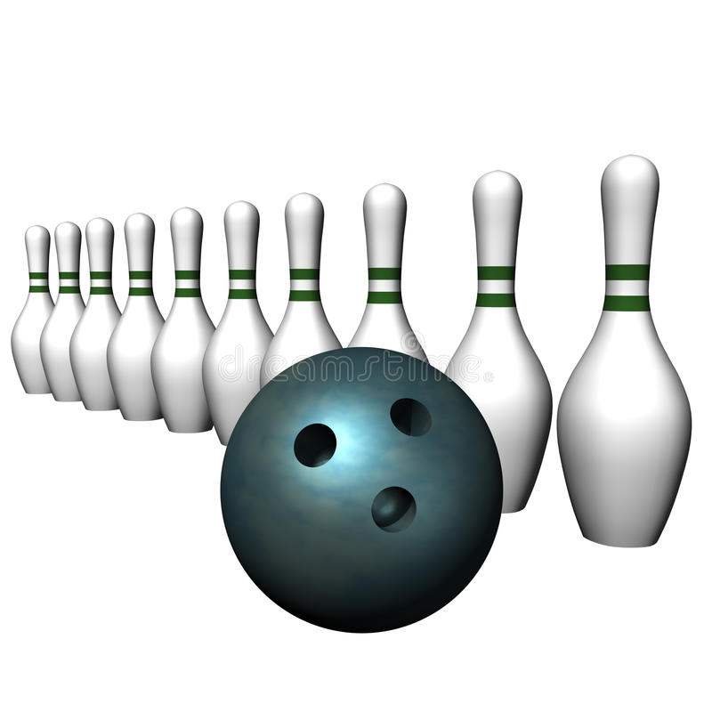 Download Ball and bowling size stock illustration. Image of background - 16023851