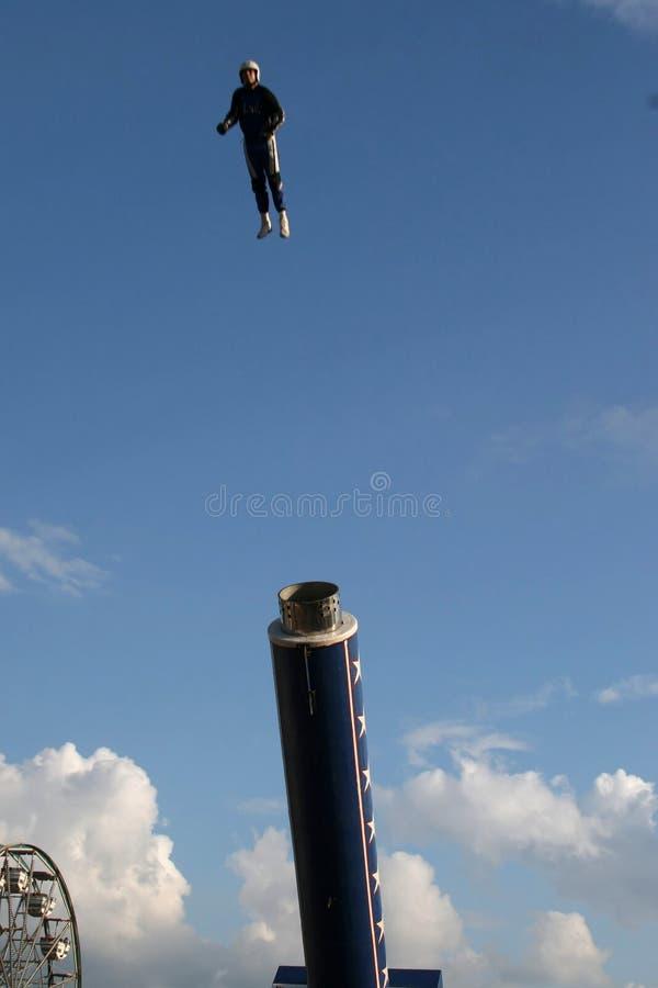 ball cannon human στοκ φωτογραφίες