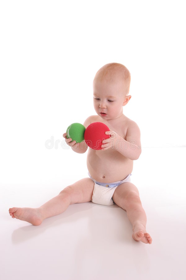 Download Ball Child stock photo. Image of play, isolated, green - 500910