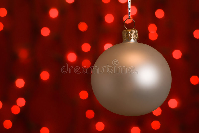ball christmas στοκ εικόνες με δικαίωμα ελεύθερης χρήσης