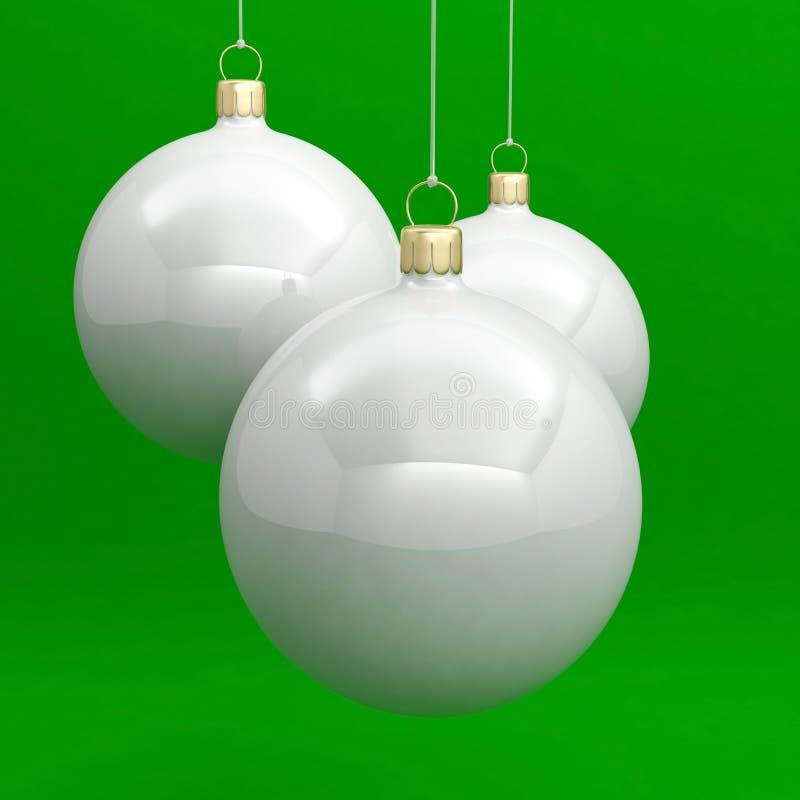 Ball christmas ornament decoration new year xmas stock photo
