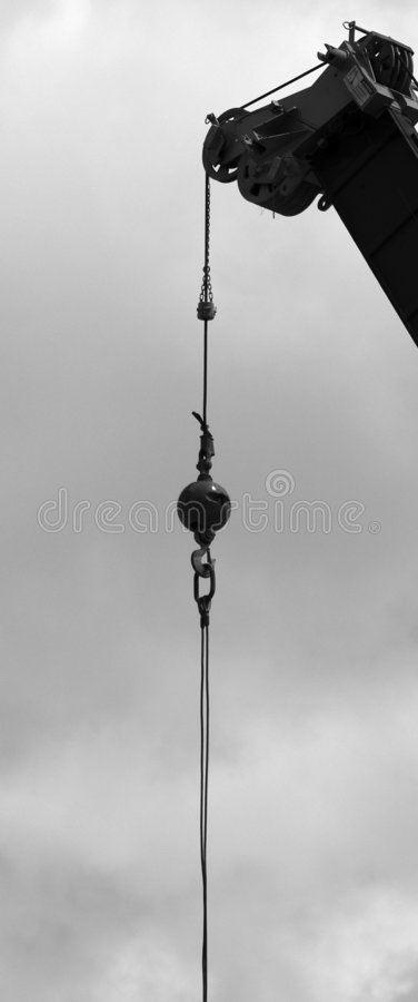 Download Ball and crane stock image. Image of ball, build, wire, construction - 13017
