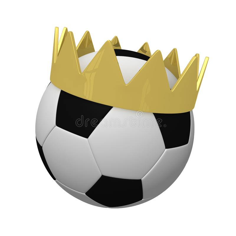 Ball in a crown stock images