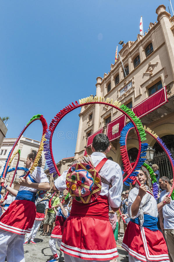 Download Ball De Cercolets At Festa Major In Sitges, Spain Editorial Stock Photo - Image: 26605963