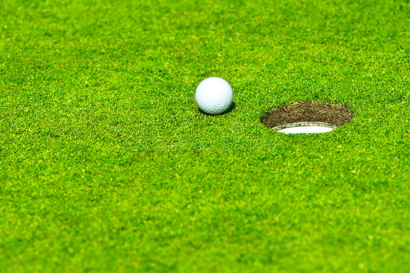 Download Ball falls in hole stock image. Image of golfing, hole - 19926569
