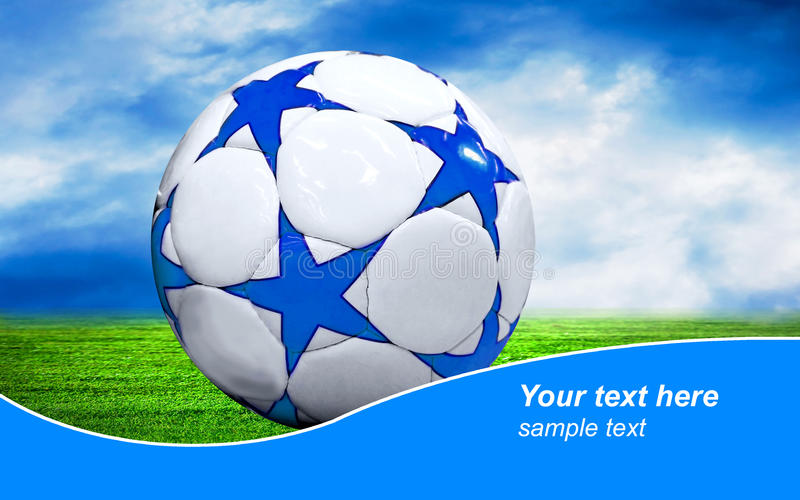 Download Ball On The Field Stock Photography - Image: 13994462