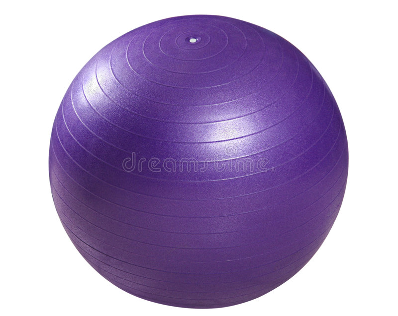 Ball for fitness stock images