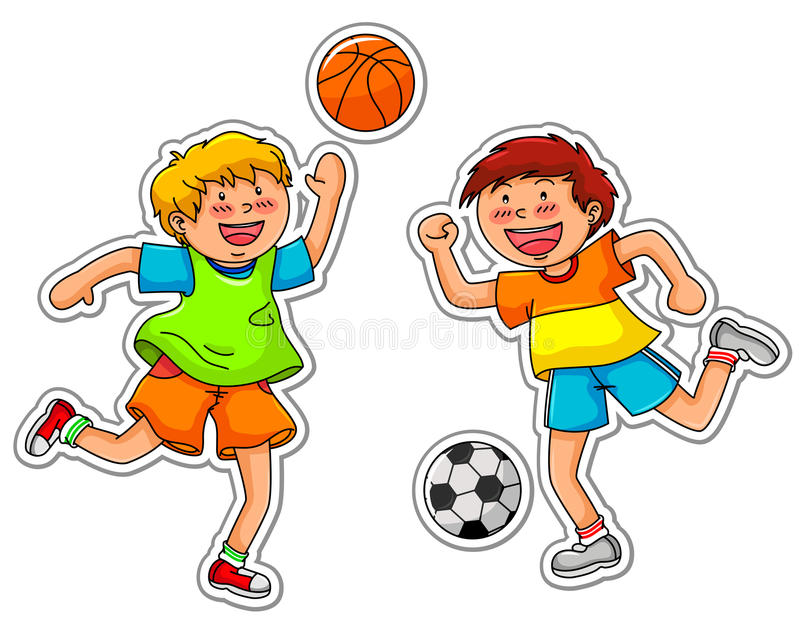 Download Ball games stock vector. Image of health, fitness, length - 25102280