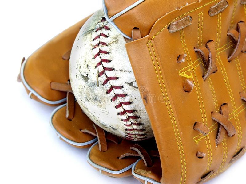 Ball And Glove #2 Stock Image
