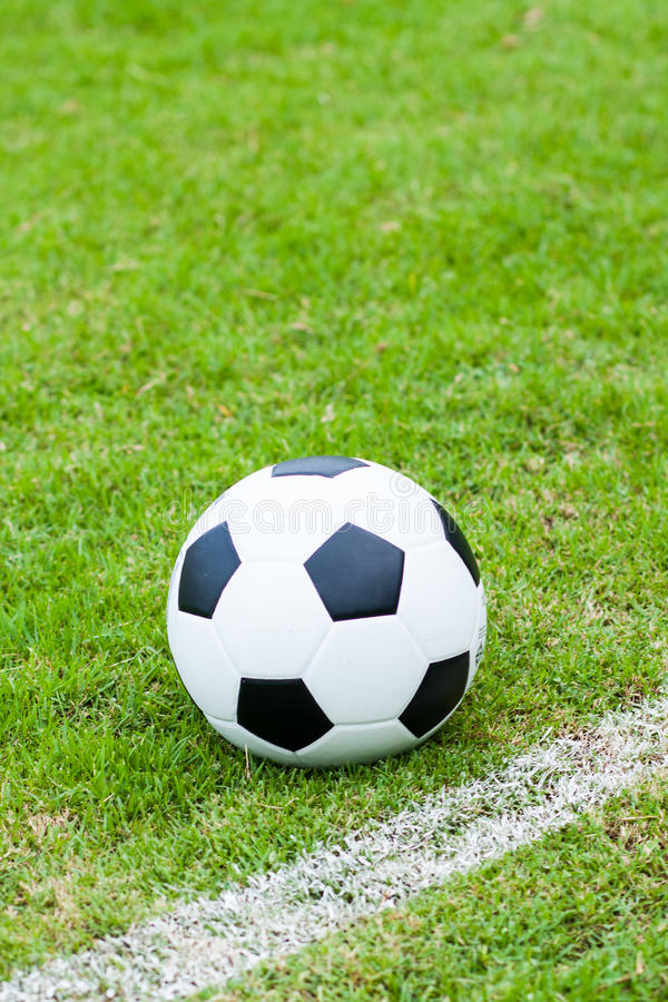 Download Ball in grass. stock image. Image of field, corner, activity - 26519089