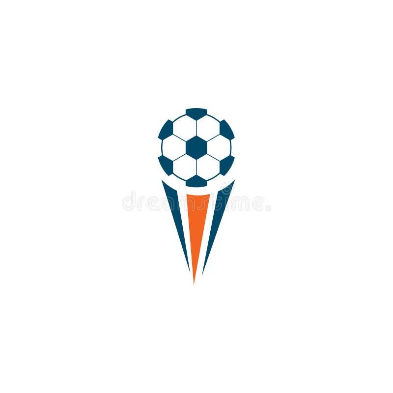 Ball icon logo template. Football logo design vector template vector illustration