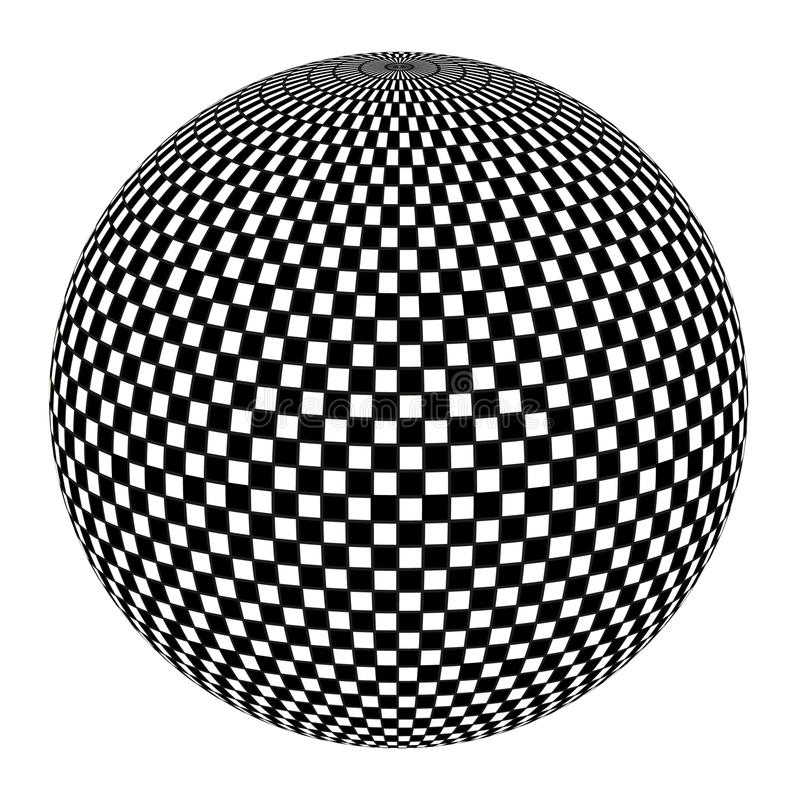 Free Ball In Black And White Stock Images - 18710714