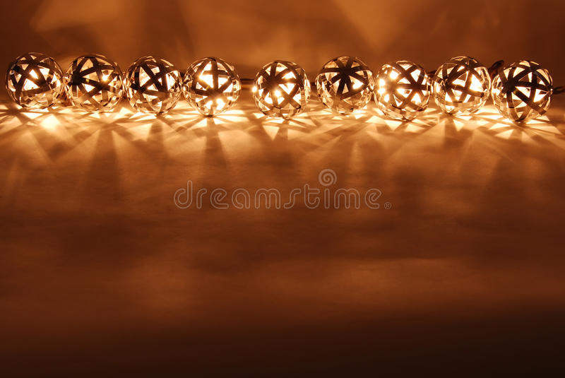 ball lanterns row στοκ εικόνες