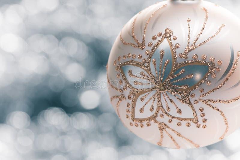 Ball light background. Beautifull christmas ball light background royalty free stock photo