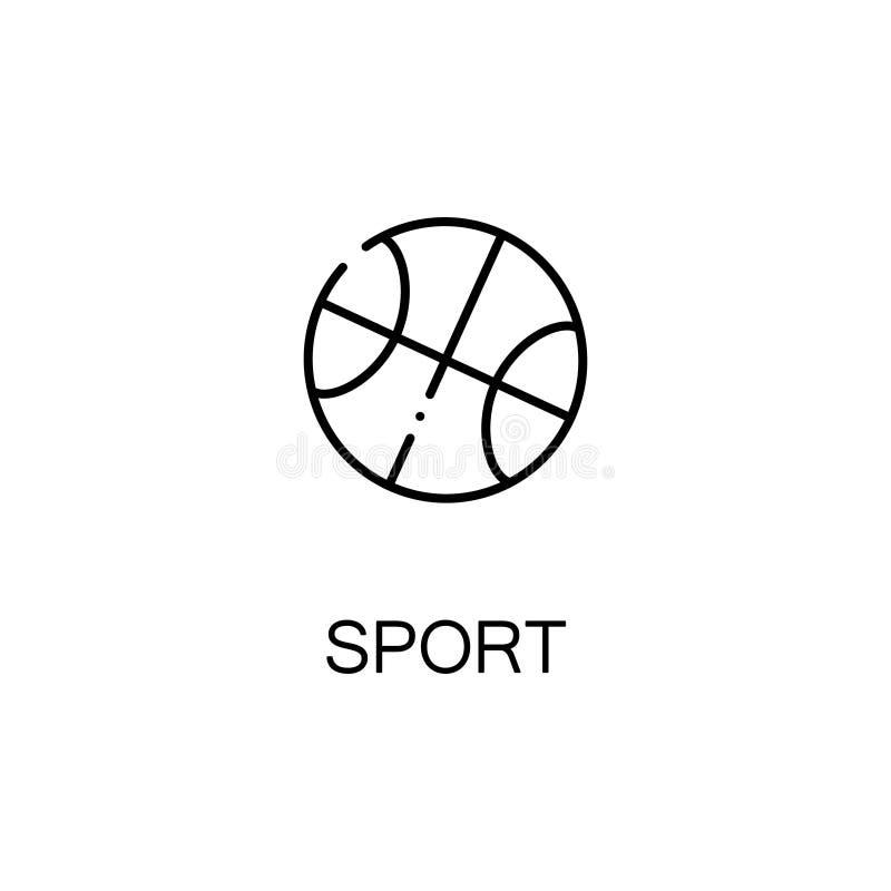 Ball line icon stock illustration