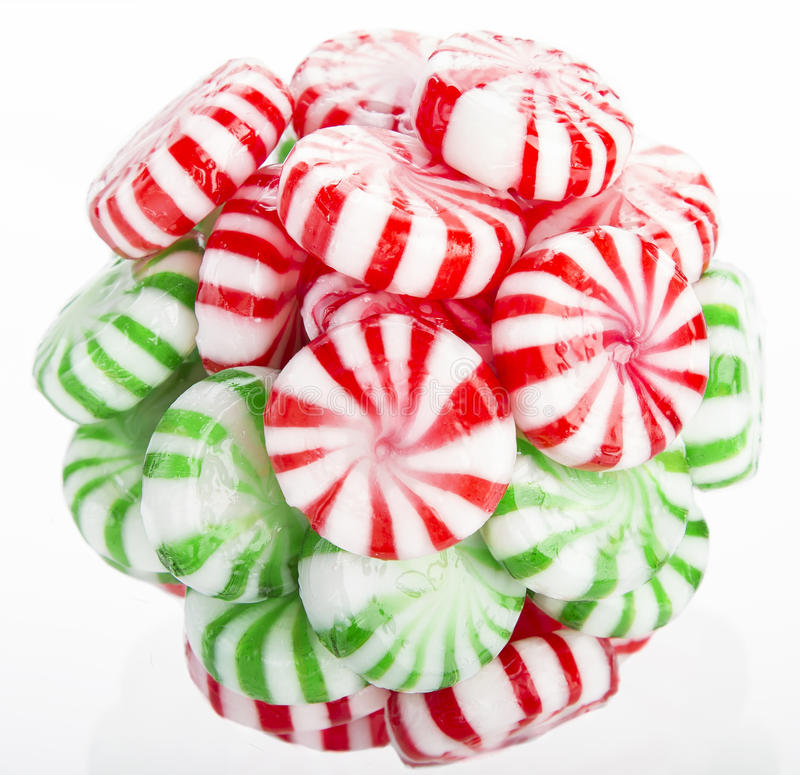 Ball Of Mints Stock Photo