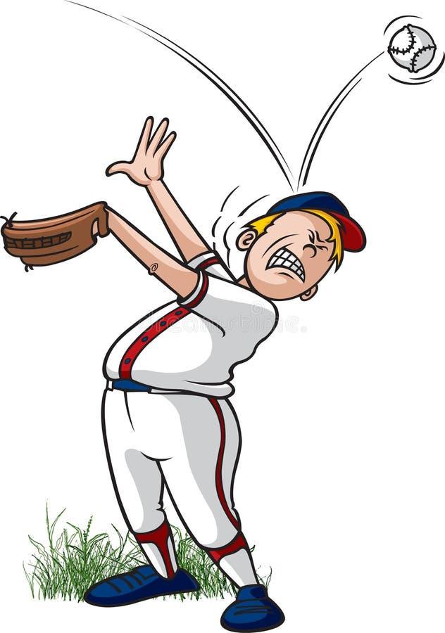 Ball off head vector illustration