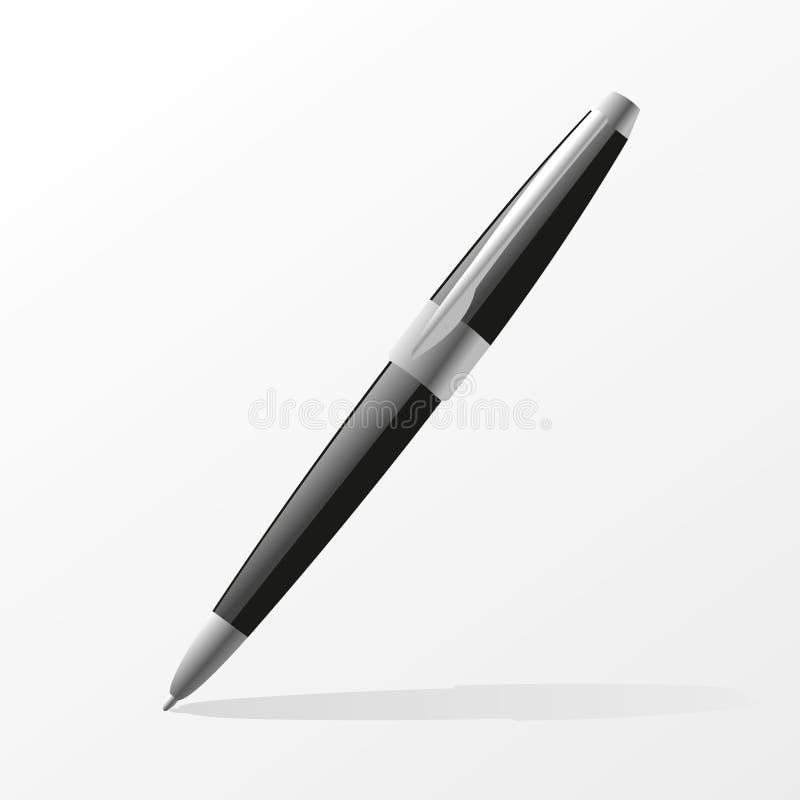 Ball pen vector illustration