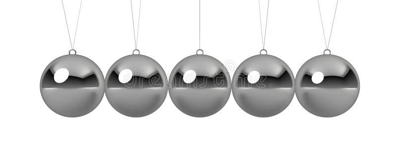 Download Ball pendulum stock illustration. Illustration of physics - 27858566