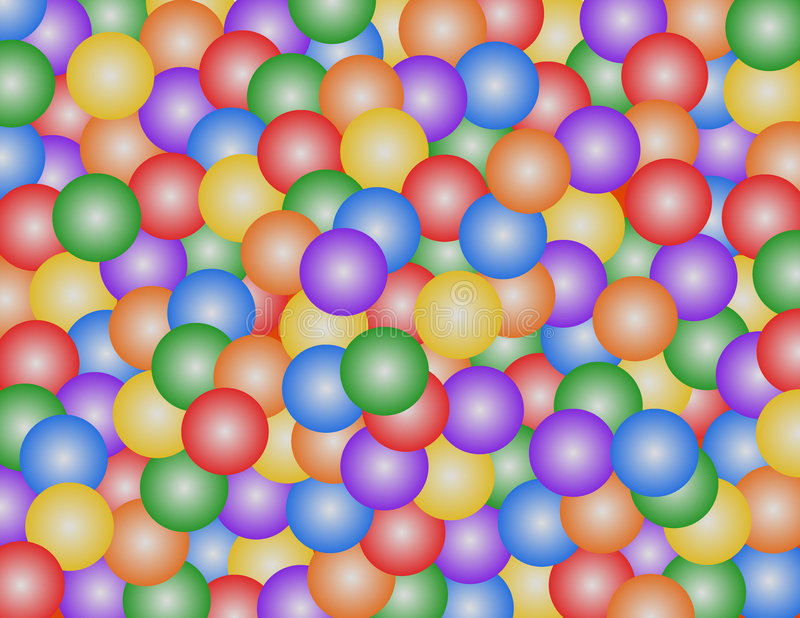 Download Ball Pit stock illustration. Image of kids, sphere, circle - 64001