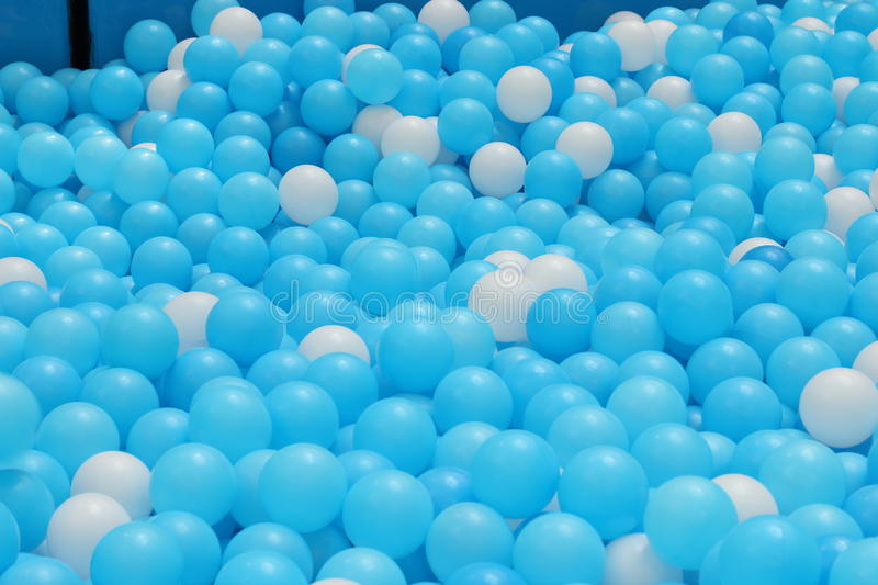 Ball pit for kids. / Indoor playground royalty free stock photos
