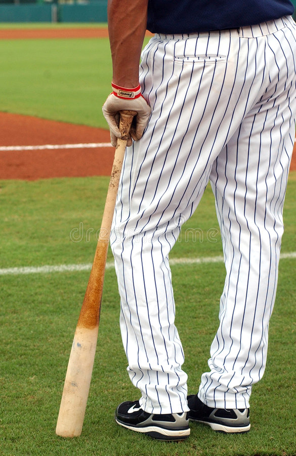 Download Ball Player & Bat stock photo. Image of field, uniform - 2851886