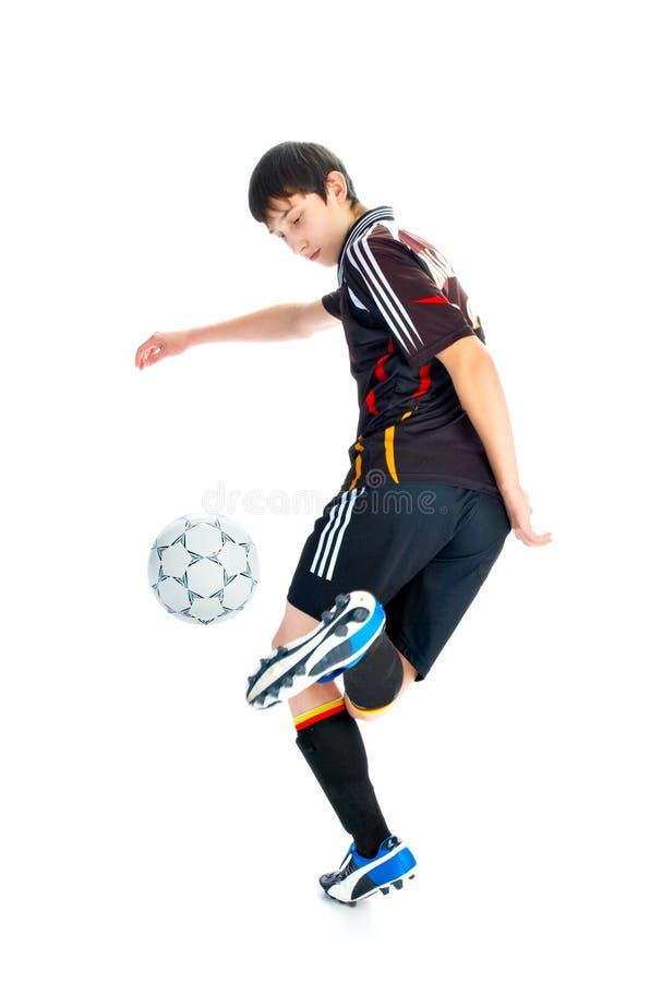 ball player soccer arkivbilder