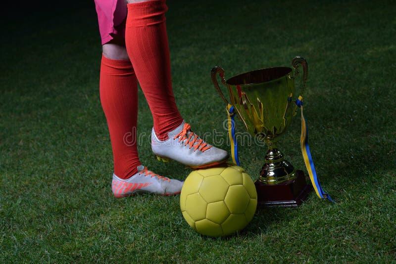 Download Ball player soccer стоковое фото. изображение насчитывающей конкуренция - 40587582