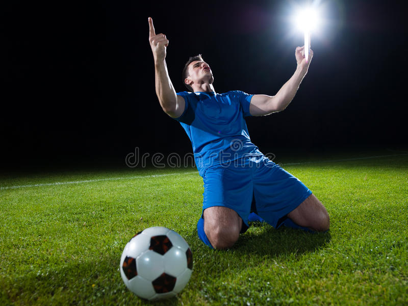 ball player soccer fotografering för bildbyråer