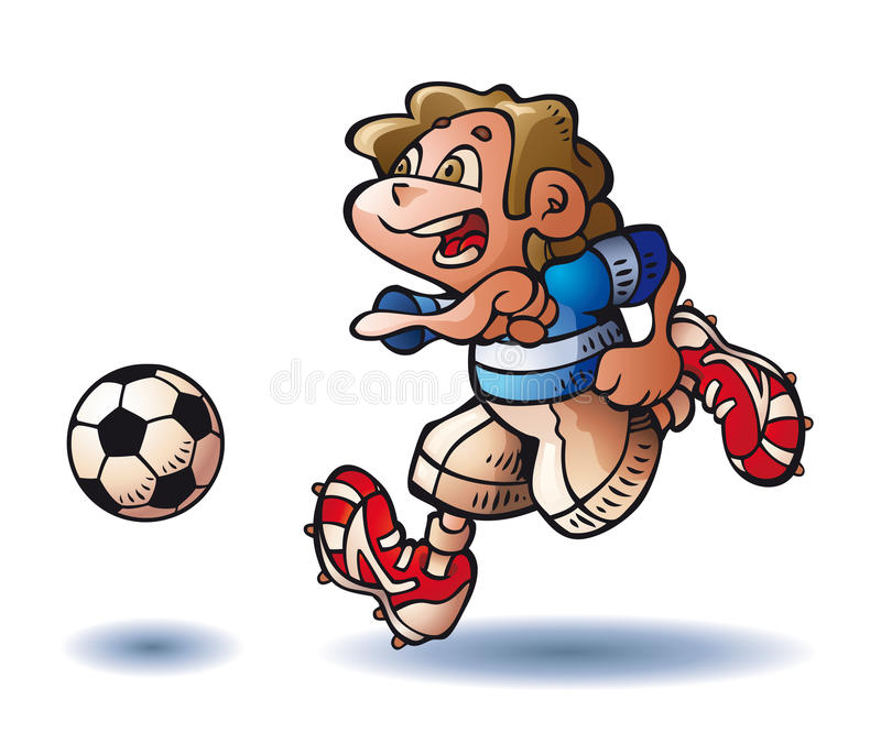 ball player soccer бесплатная иллюстрация
