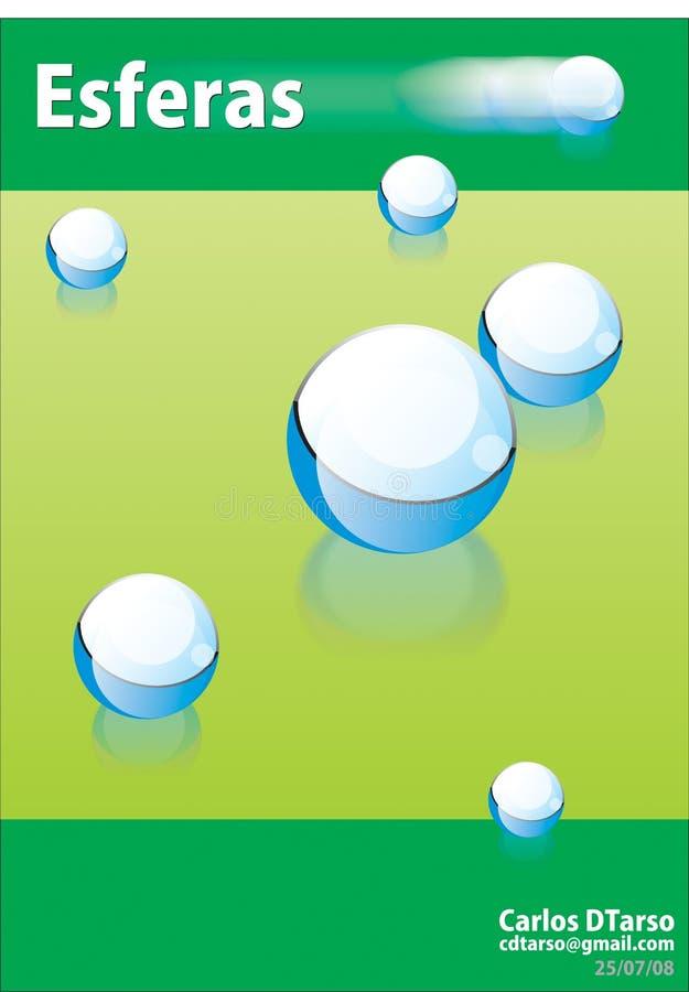 BALL POSTER stock image