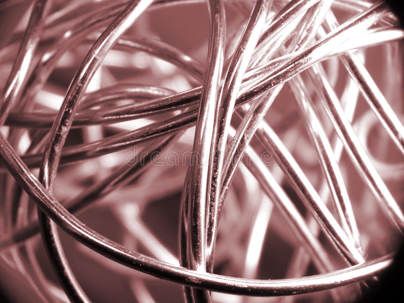 Download Ball of silver wire stock photo. Image of aluminum, shiny - 13001936
