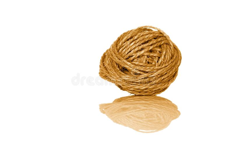 Download Ball of sisal cord stock photo. Image of rough, roll - 14719892