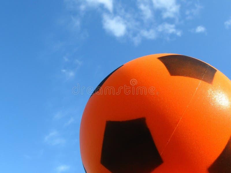 Ball on the sky royalty free stock photos