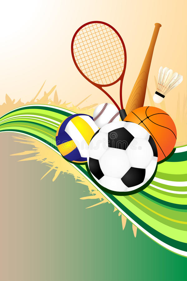 Download Ball Sports Background Stock Photo - Image: 19885860