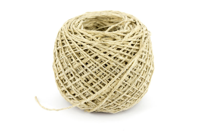 Download Ball of string stock photo. Image of isolated, close - 31344114